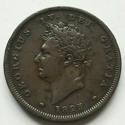 George IV Penny 1825 Quite high grade