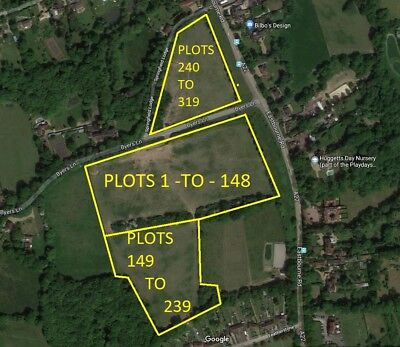 PLOT 167 - Land near Godstone Surrey England RH7 6JX near London M25 - by Owner