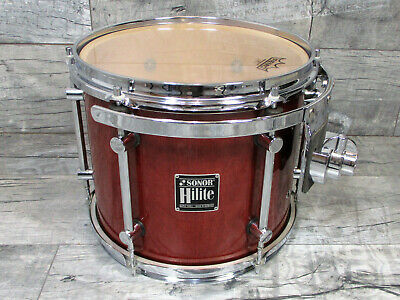"Sonor Hilite Tom 12""x10"" Red Maple Vintage"