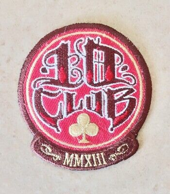 Pearl Jam 10 Club 2013 Iron-On Patch