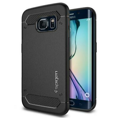 Spigen Coque Galaxy S6 Edge, [Rugged Armor] Ultimate Protection Contre Les...