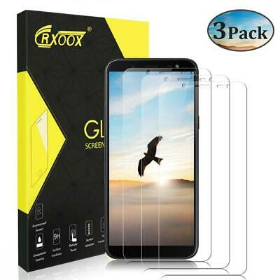 Pack de 3 Film Protection D'écran pour Samsung Galaxy J6 2018, Transparent