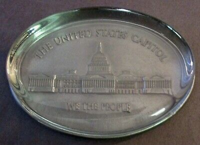 The United States Capitol Pewter Paperweight