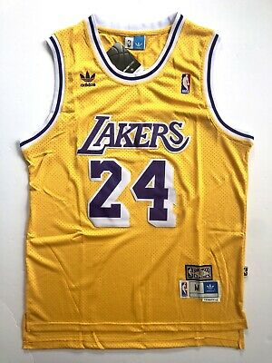 Kobe Bryant Los Angeles Lakers Throwback Jersey (Gold) - Mens M