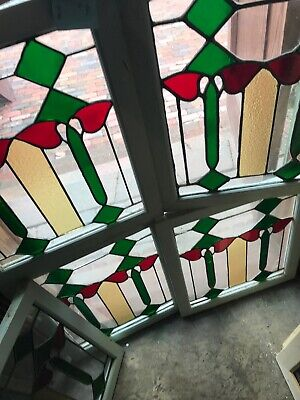 Sg2899 Five available sold separate Antique Deco Windows 19.25 x 23.25