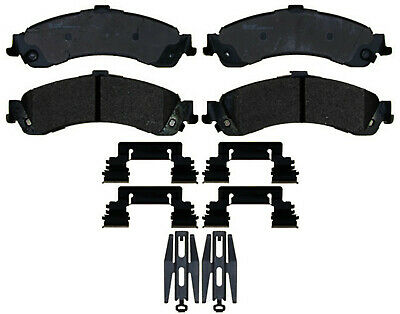 Disc Brake Pad Set-Semi Metallic Rear ACDelco Pro Brakes 17D1775MH