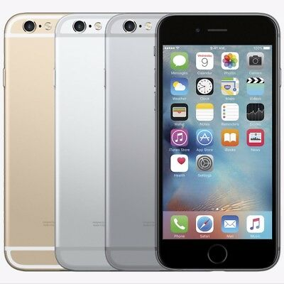 APPLE IPHONE 6~16GB~32GB~64GB~128GB UnlockedGold Space gray Silver A1549 4GLTE