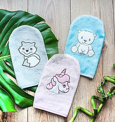 Baby Bath Wash Mitt Soft Sponge Glove
