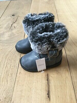 Brand New With Tags Next Baby Girl Boots Size 3 Infant
