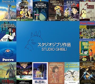 NEW Limited Ed DVD 2019 Studio Ghibli Collection 21 Movie English FREE SHIPPING