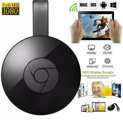 Chromecast (2rd Génération) Media Streamer Smart Home Automation-Noir Useful