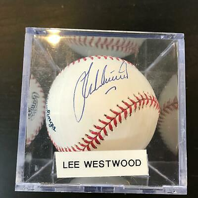 Lee Westwood Signed Autographed Official Major League Baseball PGA Golf