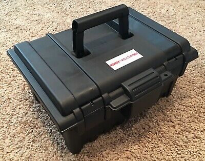 SENCORE LC103 Hard Cover Carrying Case, Weather Resistant, Padded Foam Interior
