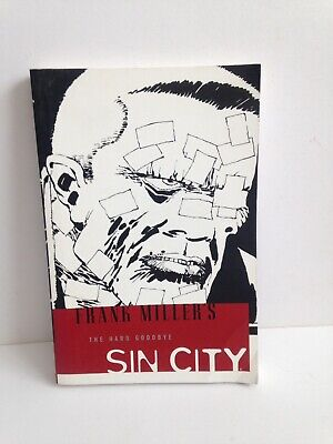 Frank Miller's Sin City Volume 1 - The Hard Goodbye Paperback Good Condition
