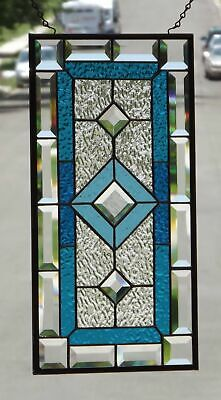 •After the Storm •2 Panels available Beveled Stained Glass Window Panel •
