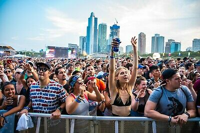 Lollapalooza Ticket - Saturday Only General Admission - 8/3/19
