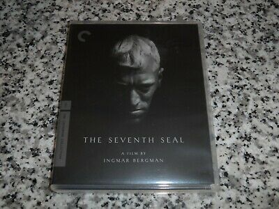 The Seventh Seal The Criterion Collection Blu-Ray RARE