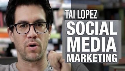 Tai Lopez | Social Media Marketing Expert Training | Complete Course FREE SHIP!