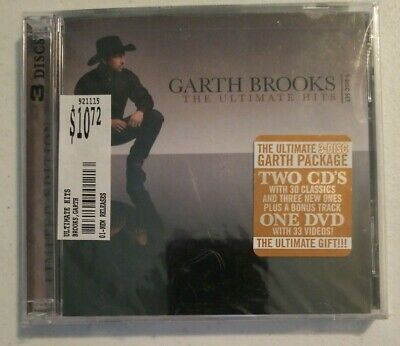 The Ultimate Hits by Garth Brooks (CD, Nov-2007, 3 Discs, Pearl)