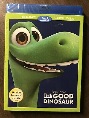 The Good Dinosaur Blu-Ray & DVD w Slipcover Canada Bilingual NO DC LOOK Disney