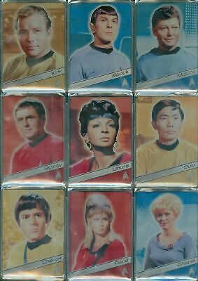 Star Trek 50th Anniversary Metal Cards from Rittenhouse Singles to choose