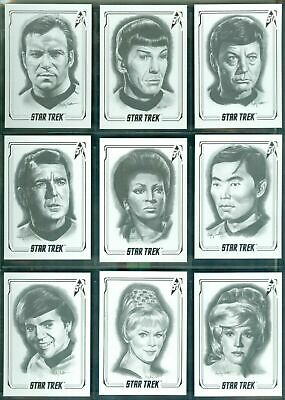 Star Trek 50th Anniversary Artifex Cards from Rittenhouse Singles to choose