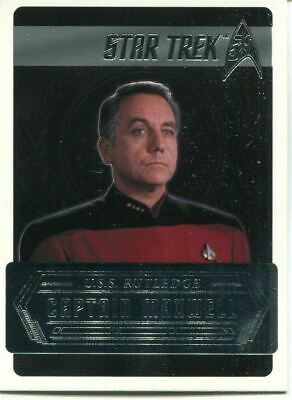 Star Trek 50th Anniversary [2017] Starfleets Captains Chase Card C17 C Maxwell