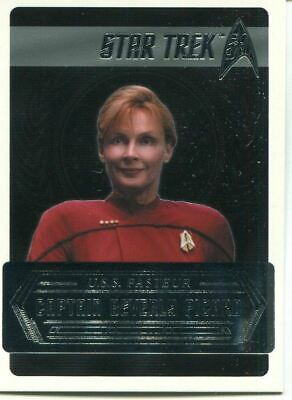 Star Trek 50th Anniversary [2017] Starfleets Captains Chase Card C15 Bev Picard