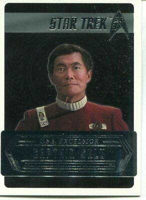 Star Trek 50th Anniversary [2017] Starfleets Captains Chase Card C9 C Sulu