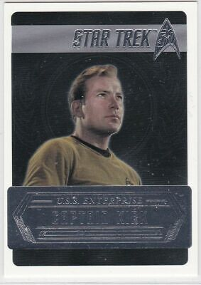 Star Trek 50th Anniversary [2017] Starfleets Captains Chase Card C2 Captain Kirk