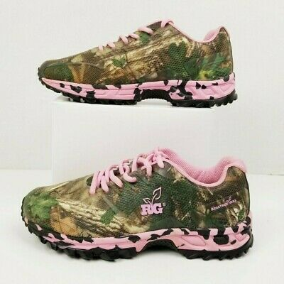 34925cfa5c050 Realtree Girl Mamba Camo & Pink Trail Hiking Shoes Sneakers - Women's Size  8M
