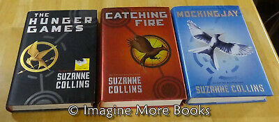 The Complete Hunger Games Trilogy by Suzanne Collins ~ Hardcovers