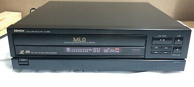 Denon LA-3000 Multi Laser Disc Player CD Laser Disc CDV Multi Format, No Remote