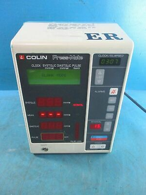 Colin Press Mate Bp 8800P Nibp Blood Pressure Monitor - Powers On
