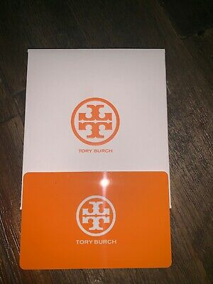 Tory Burch Gift Card - Can be mailed if needed.