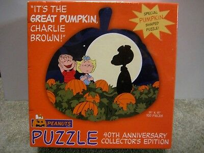 It's The Great Pumpkin Charlie Brown Peanuts 40th Anniversary Edition Sealed