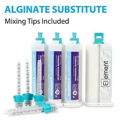 Element ALGINATE SUBSTITUTE Dental Impression Material 50mL Cartridge +TIPS