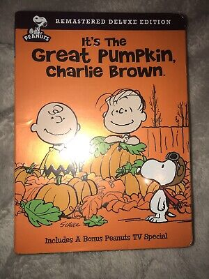 It's the Great Pumpkin Charlie Brown DVD Remastered Deluxe Edition New