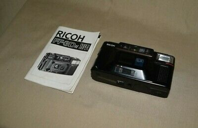 Vintage Ricoh FF-3D AF Super 35 mm Camera with directions in good condition