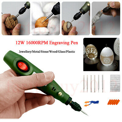 Engraver Electric Pen Etcher Metal|Glass|Ceramic|Wood Engraving Milling Rotary