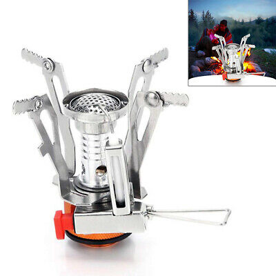 NEW Mini Portable Outdoor Compact Camping Hiking Fishing Gas Heater Stove Cooker