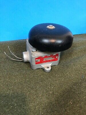CROUSE-HINDS ESR2672NX Model M3 Explosion Proof Bell Signal 115 Volts