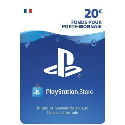 carte psn Playstation 20 euros