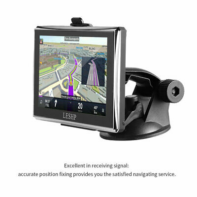 LESHP HD Car GPS Global Positioning System Touch Screen Navigation Map@a