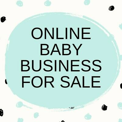 Online Baby/Gifts Business for Sale - Website set up and ready to go!
