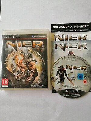 Nier Sony PlayStation 3 Ps3 PS 3 Square Enix Pal Fr