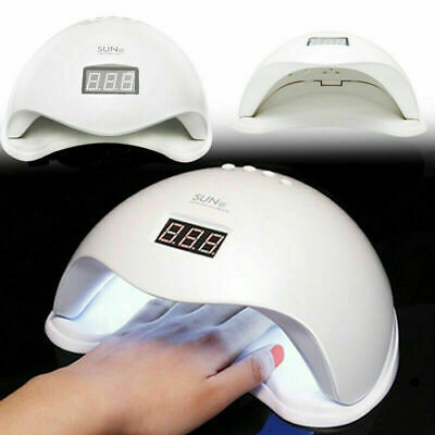 New SUN5 48W LED UV Nail Lamp Light Gel Polish Dryer Manicure Art Curing AU Plug
