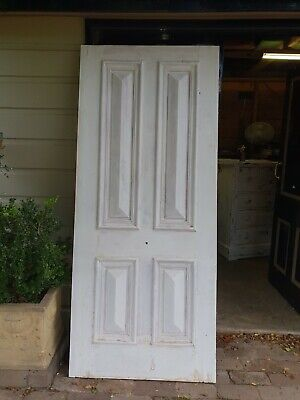 antique front door ,cricket bat door
