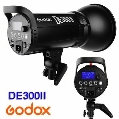 Godox DE300II 300Ws 2.4G Wireless X System Studio Flash Strobe Light Head 220V