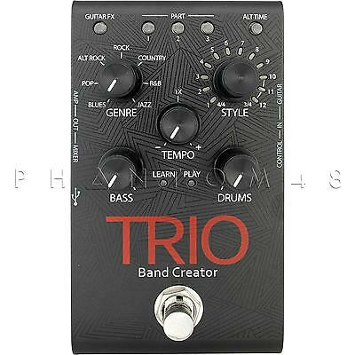 DigiTech Trio Band-in-a-Box Programmable Instrumental Accompaniment Pedal